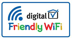 Look for this logo when using wifi out and about. 1